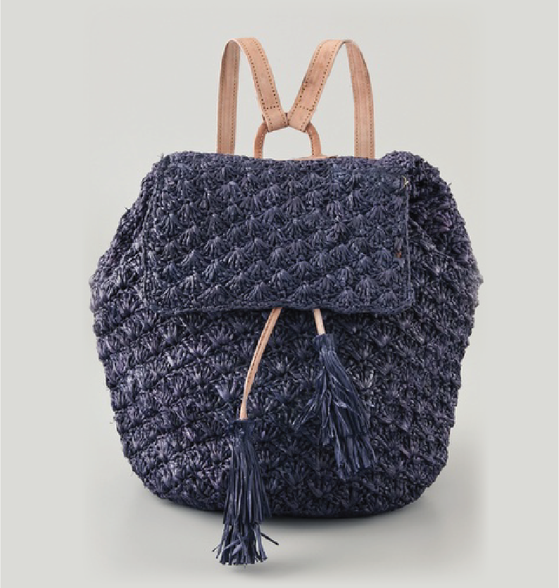 Crochet Backpack : Mar Y Sol - Zadie Crochet Backpack Haute by Victoria Simpson A ...