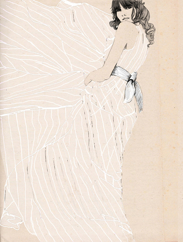 Fashion Illustrations by Sandra Suy