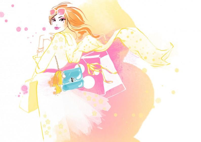 Fashion Illustrations: Susan Hassmann
