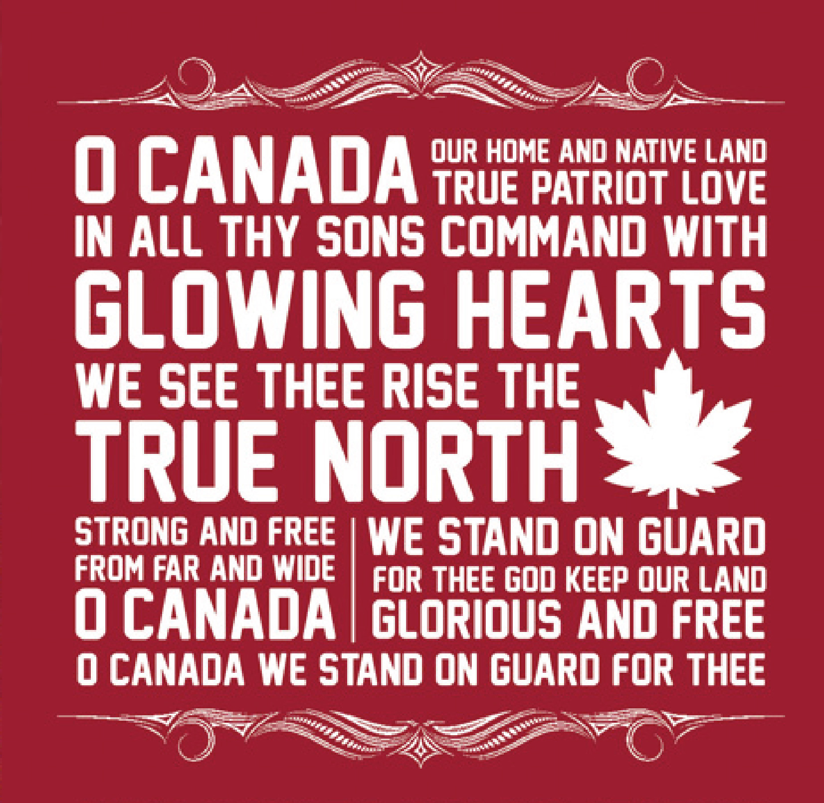 Canadian National Anthem