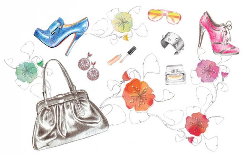 Fashion Illustrations: Mia Marie Overgaard