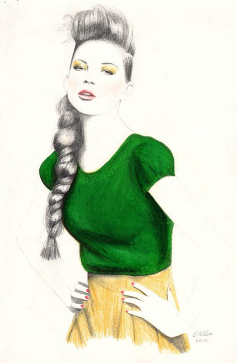 Fashion Illustrations: Oliver Searle