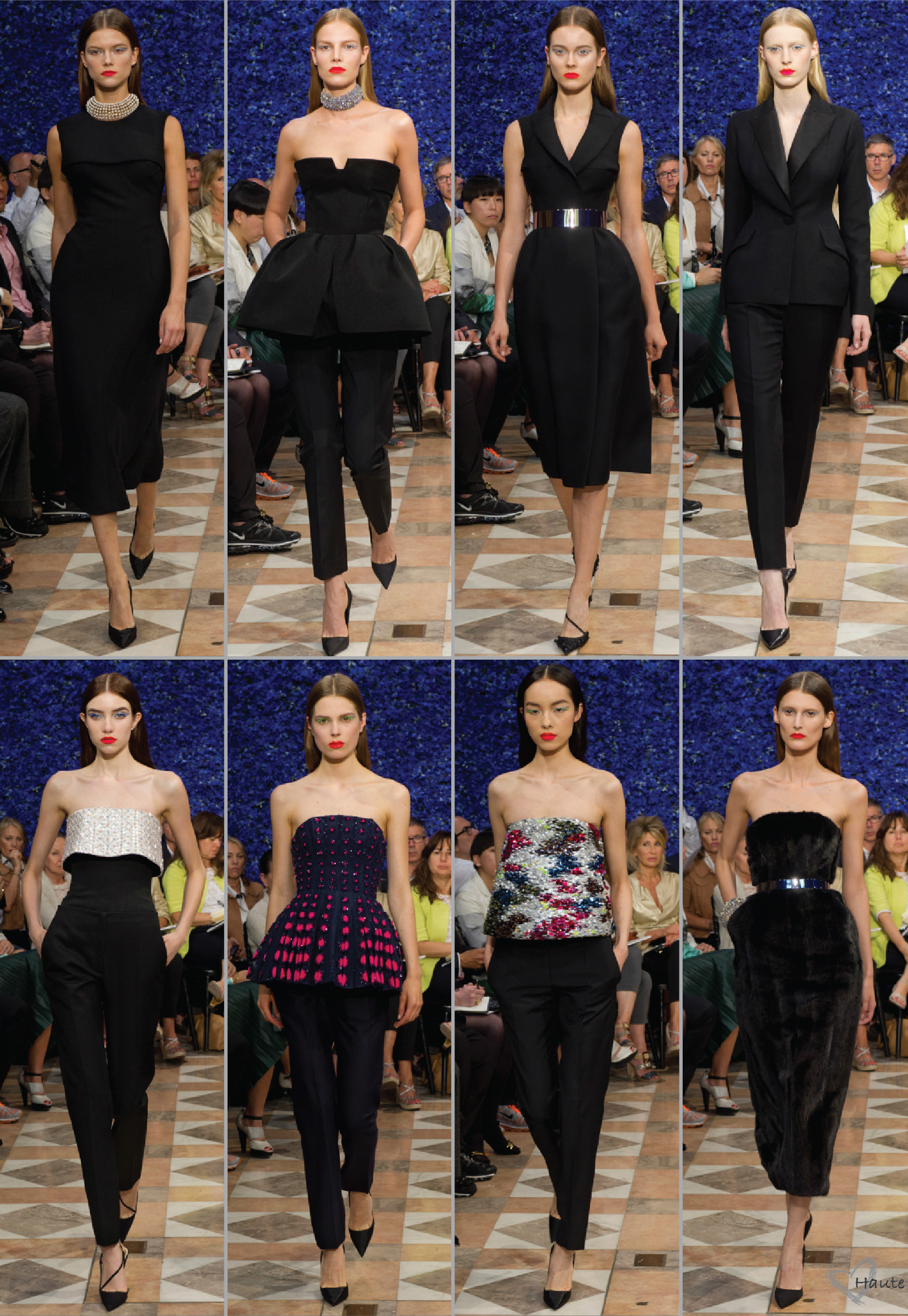Raf simons debut for christian dior haute couture fw12 for A haute couture