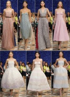 Raf Simons debut for Christian Dior