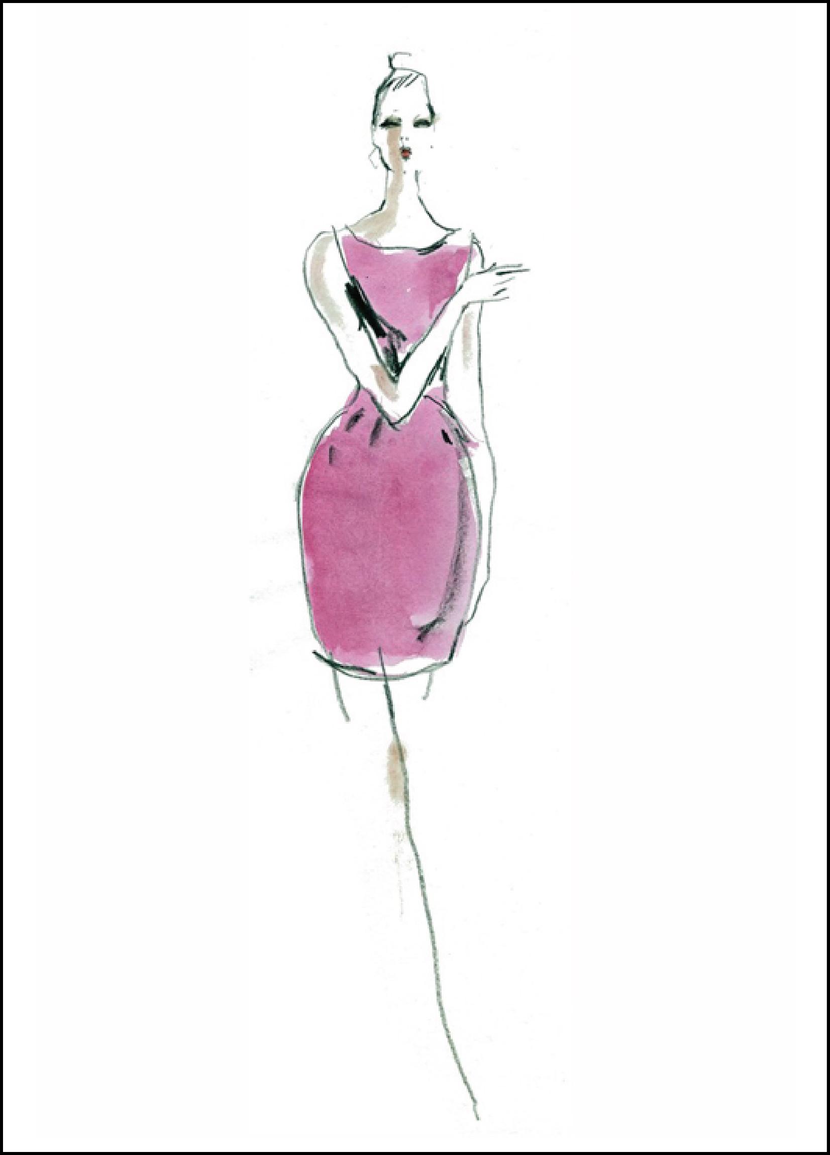 Fashion Illustration Royalty Free Stock Photo: Foundation Diploma Art & Design: Fashion Illustrators