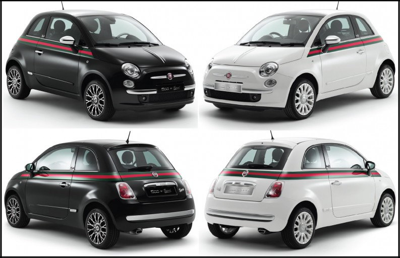the 2012 fiat 500 by gucci a side of vogue. Black Bedroom Furniture Sets. Home Design Ideas