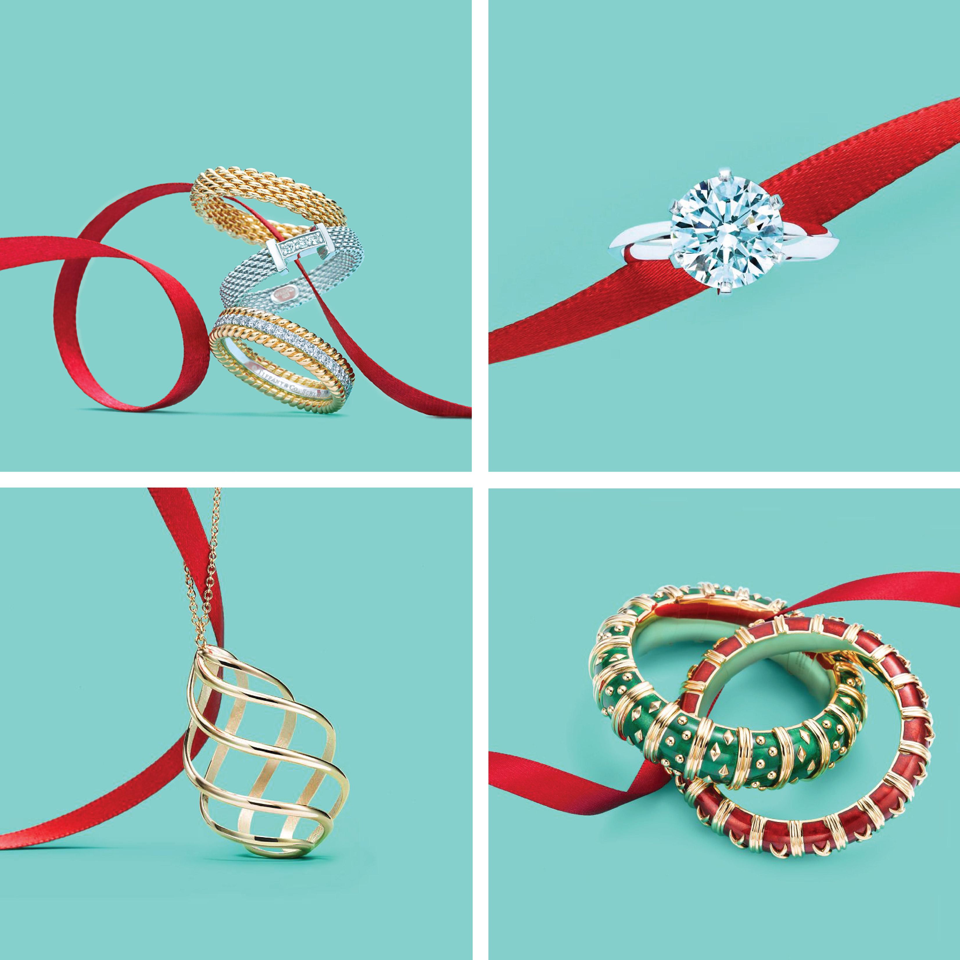 Tiffany Blue Home Decor A Very Tiffany Holiday Tiffany Amp Co Jewelry Amp Ad