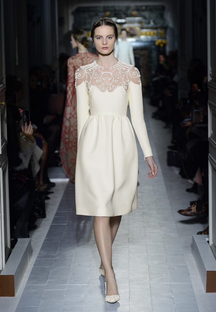 Valentino haute couture spring summer 2013 a side of vogue for What is haute couture