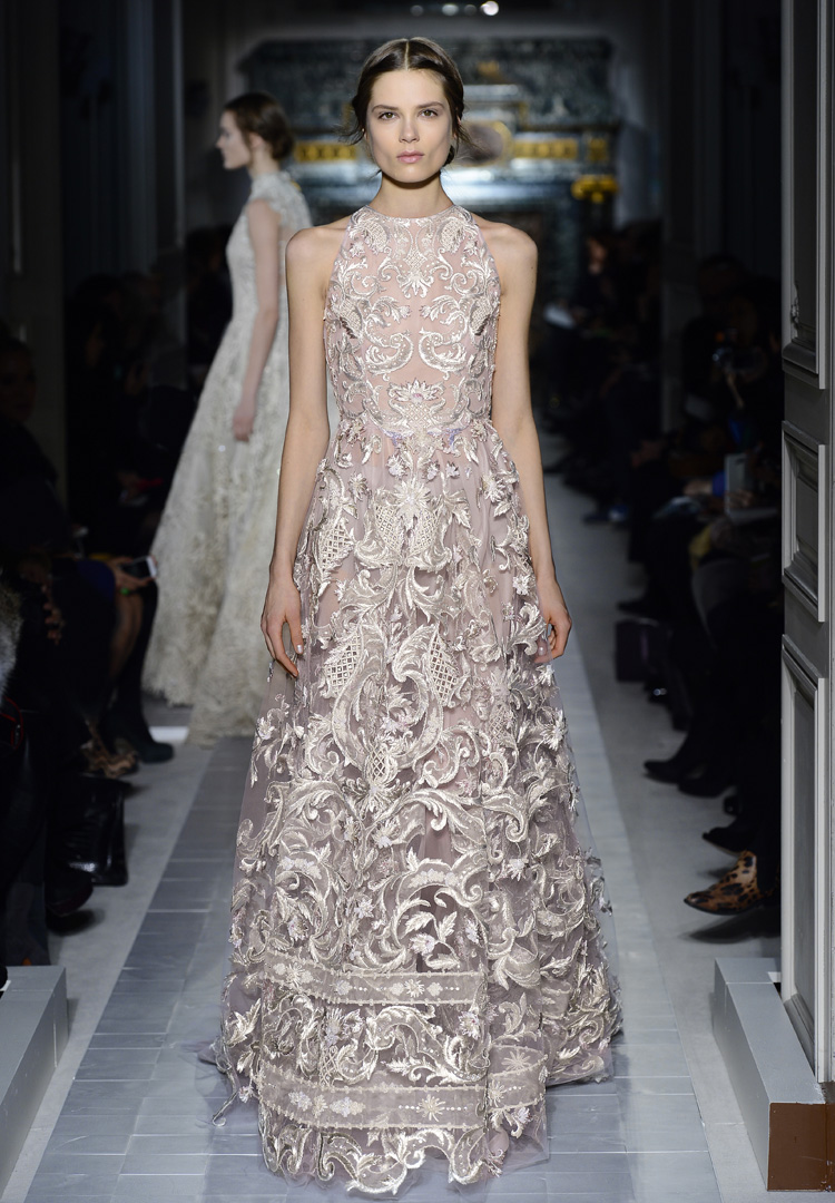 valentino haute couture fashion show