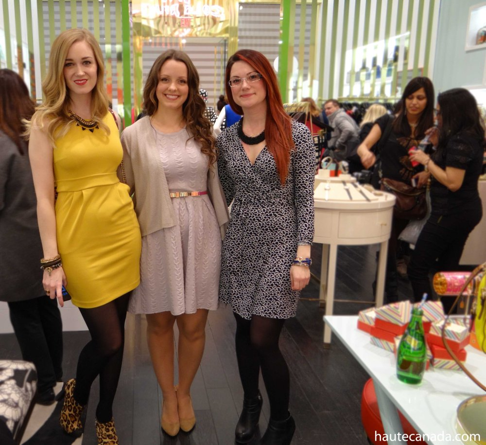 Kate Spade's Canadian Launch Party
