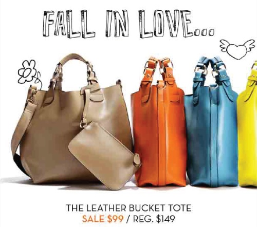 Danier Leather - The Leather Bucket Tote - Haute Fashion Blog Post-01