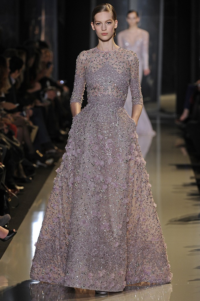 Elie saab haute couture spring 2013 a side of vogue for Haute house couture