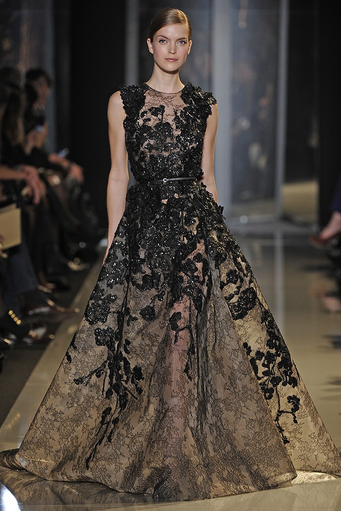 elie saab haute couture spring 2013 a side of style. Black Bedroom Furniture Sets. Home Design Ideas