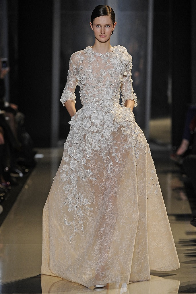 Elie saab haute couture spring 2013 a side of vogue for A haute couture