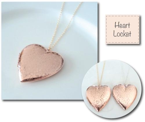 Etsy Find: Drop Earrings & Vintage Heart Locket by BlackAndWhiteJewels