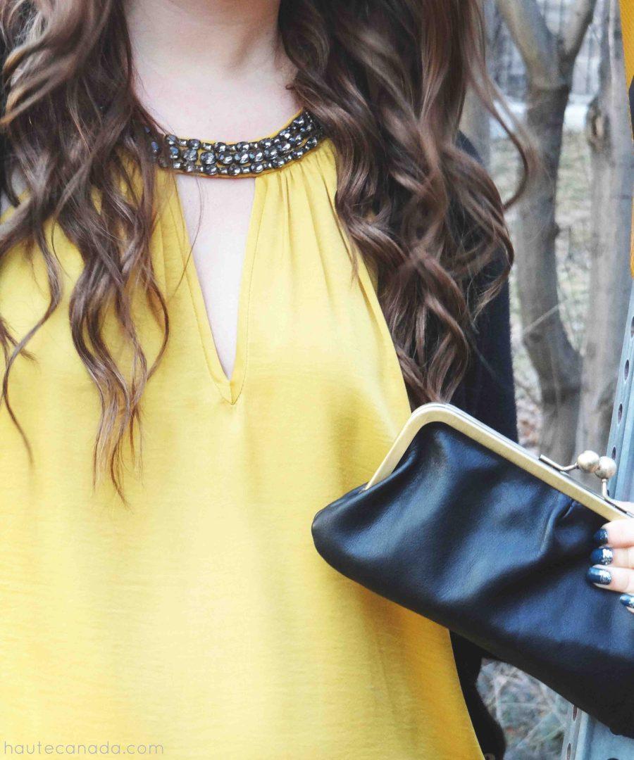 Style Post: Black + Mustard