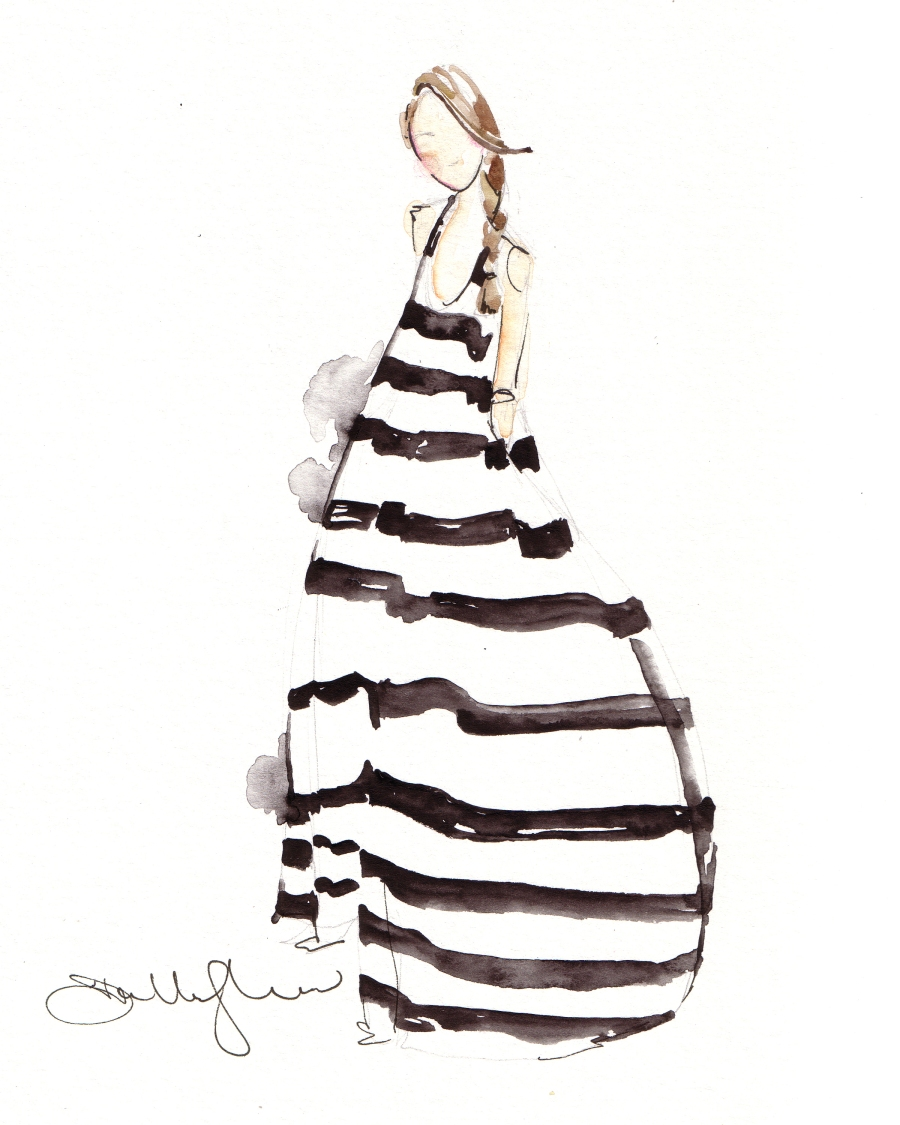 Fashion Illustrations by Dallas Shaw