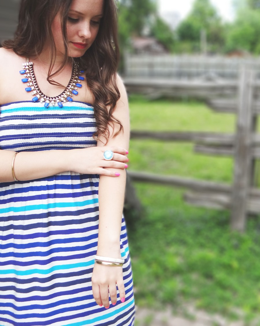 Style Post: White + Blue Stripes