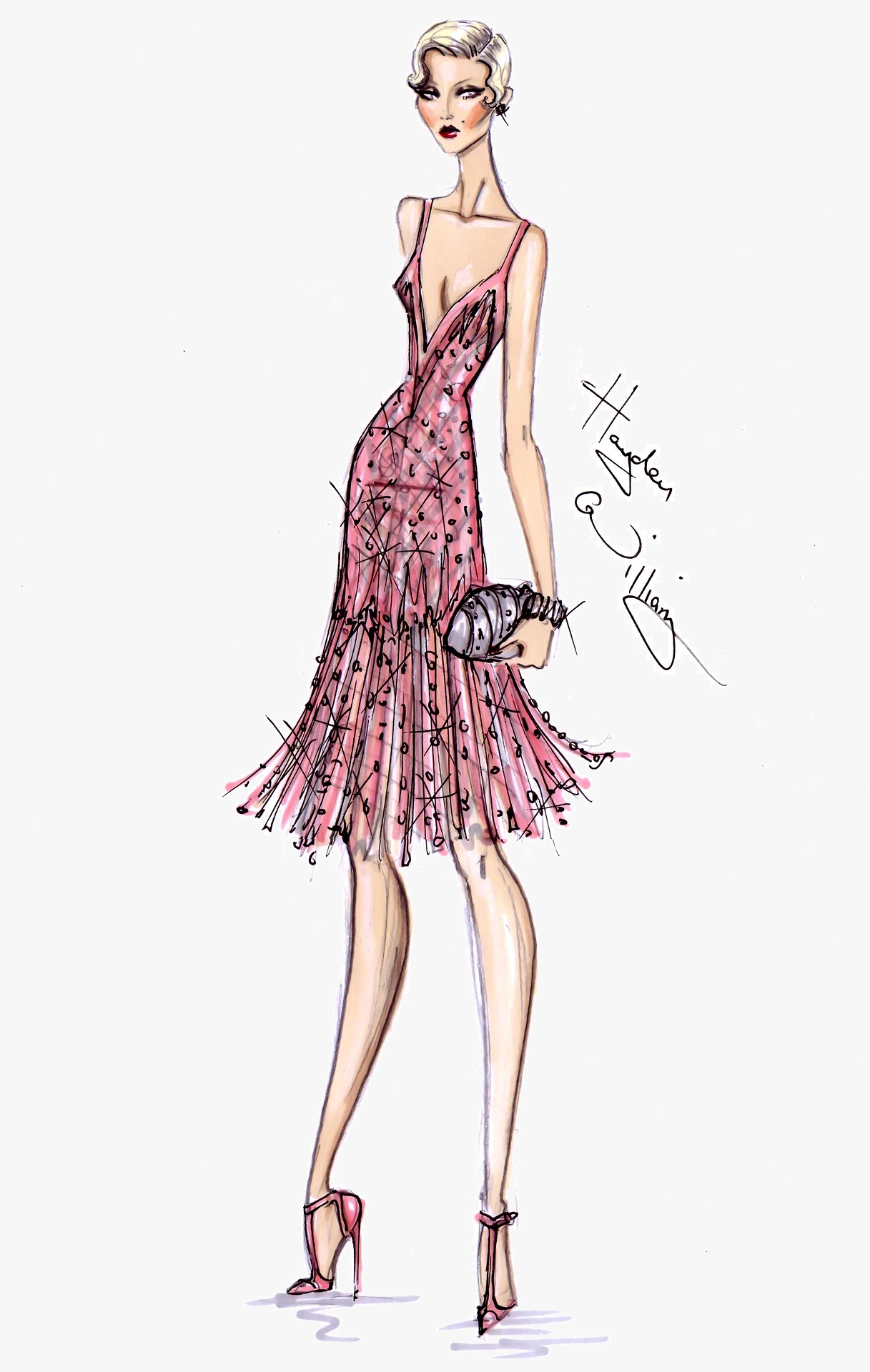 Fashion Illustrations - The Great Gatsby Collection By Hayden Williams | A Side Of Vogue