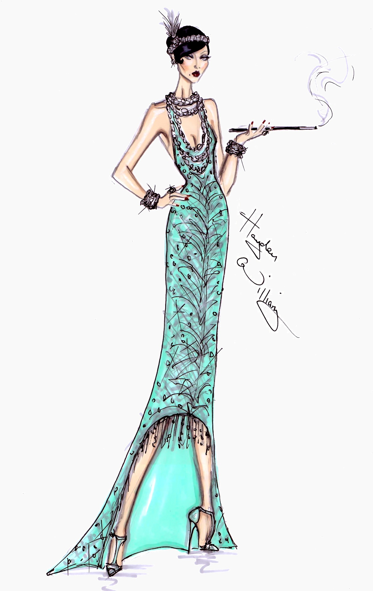 Fashion Illustrations - The Great Gatsby Collection by Hayden Williams ...