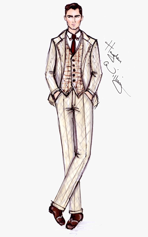 Fashion Illustrations The Great Gatsby Collection By