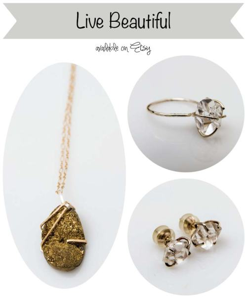 Etsy Find: Ethical & Recycled Jewelry from Live Beautiful