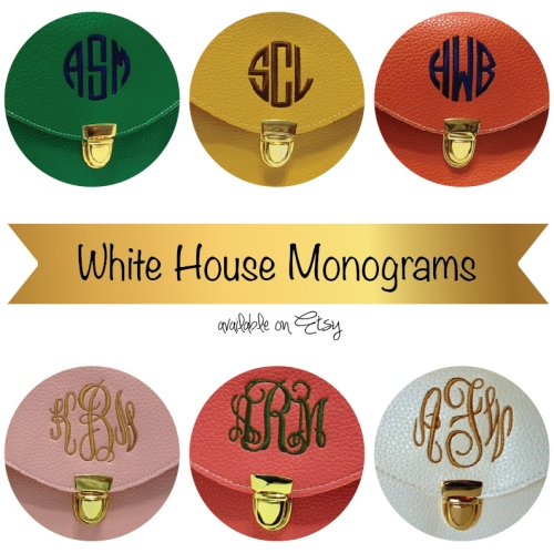 Etsy Find: Monogrammed Purses from White House Monograms