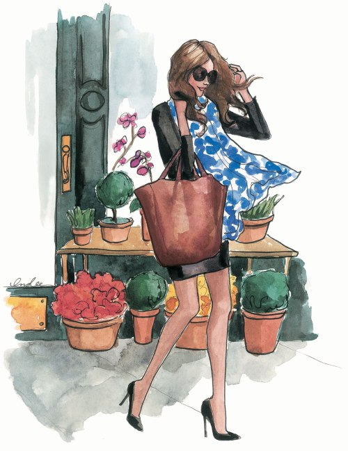 Fashion Illustrations by Inslee by Design - 2013_SepINSLEE