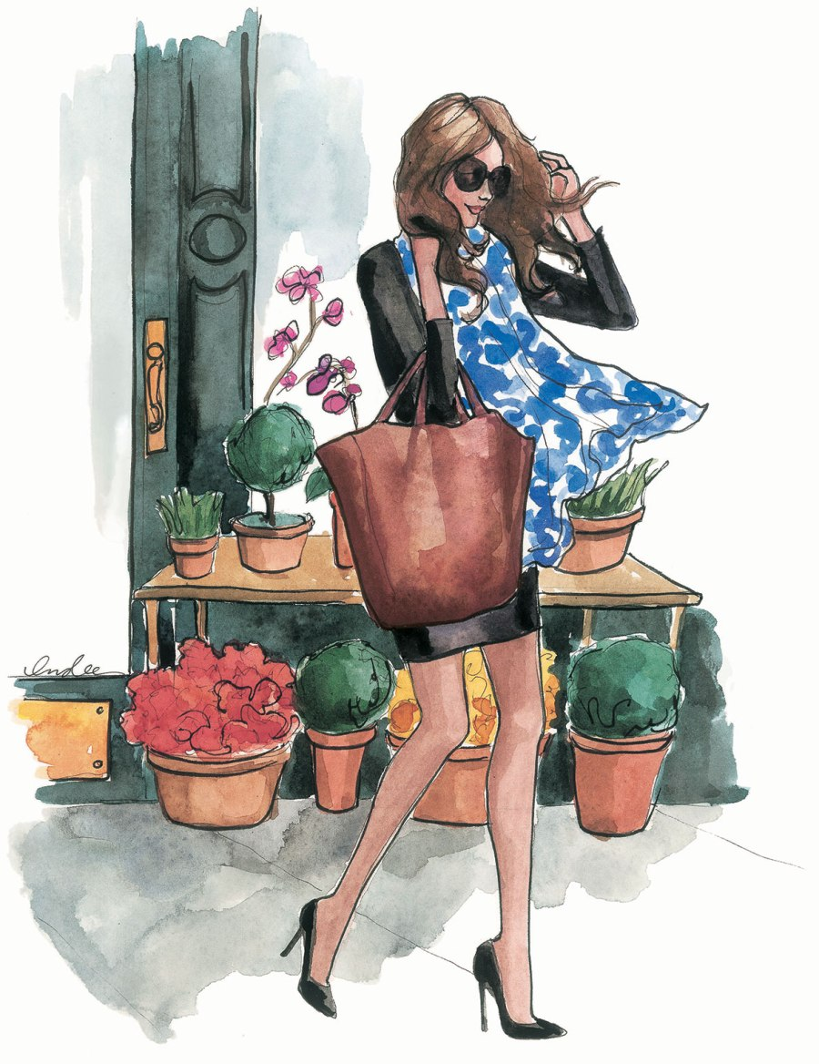In The Mood For Fall - Fashion Illustrations by Inslee