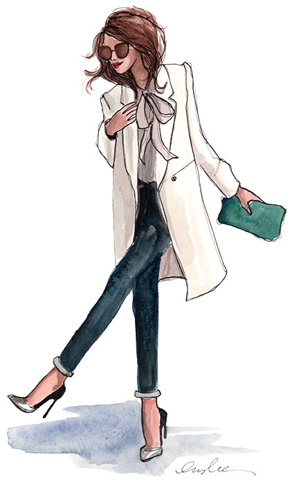 Fashion Illustrations by Inslee by Design - anklesINSLEE