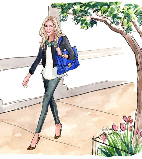 Fashion Illustrations by Inslee by Design - emily-maynard1-INSLEE-
