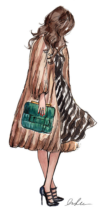 Fashion Illustrations by Inslee by Design - minkINSLEE1