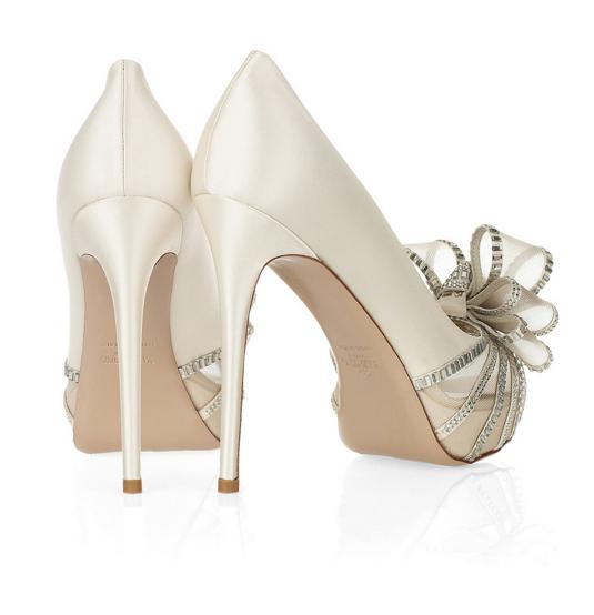 Bridal Shoes Low Heel 2014 Uk Wedges Flats Designer PHotos Pics Images Wallpapers Perfect