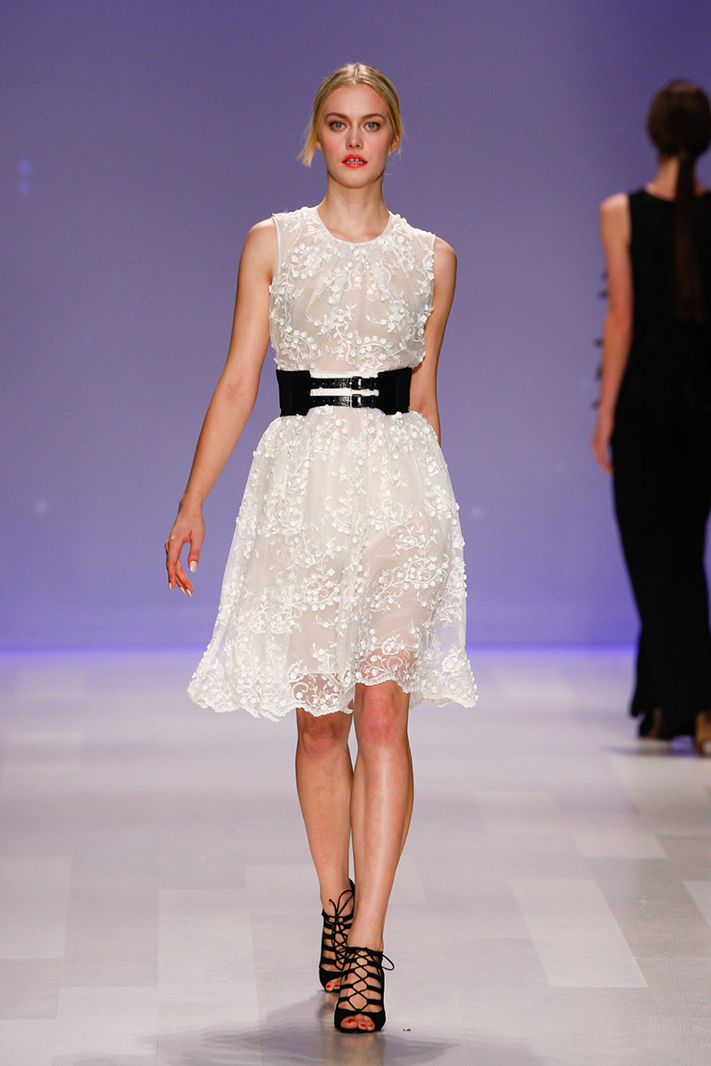 David Dixon Spring 2014 Collection At Toronto Fashion