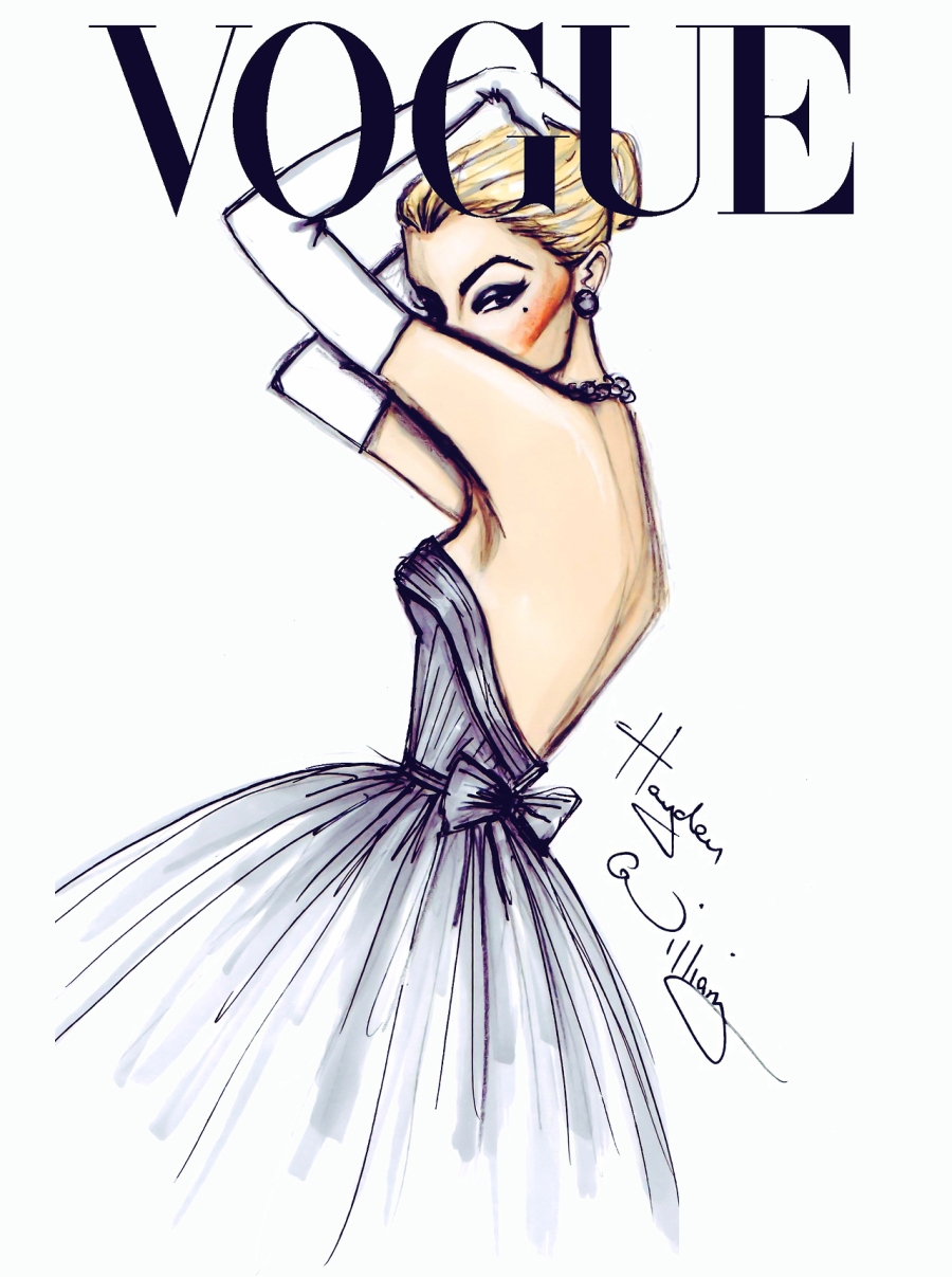 Vogue Fashion Illustrations by Hayden Williams
