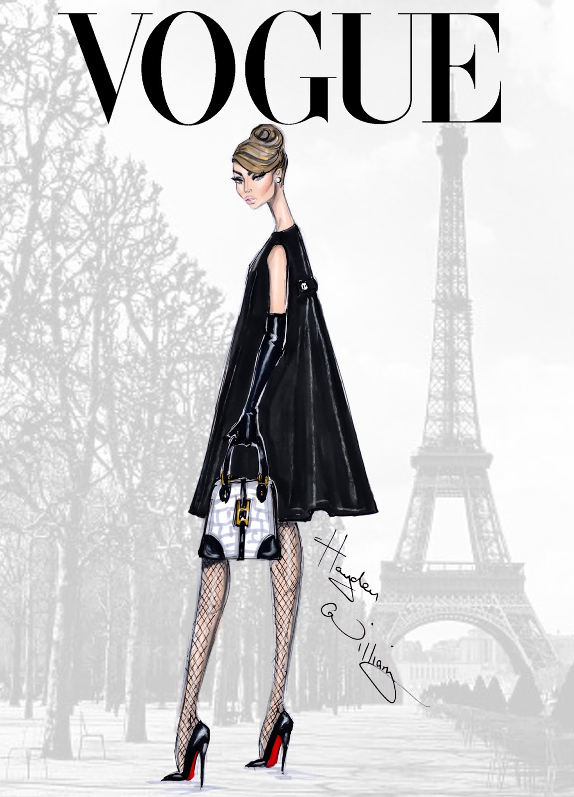vogue 39 fashion illustrations by hayden williams a side of vogue