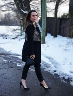 Style Post: Colour Blocking with Leopard and Black