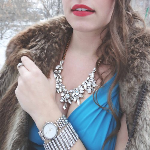 Crystal_Necklace_Red_Lips_Vintage_Rolex