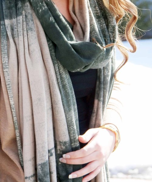 Green-Tan-Laura-Siegel-Scarf