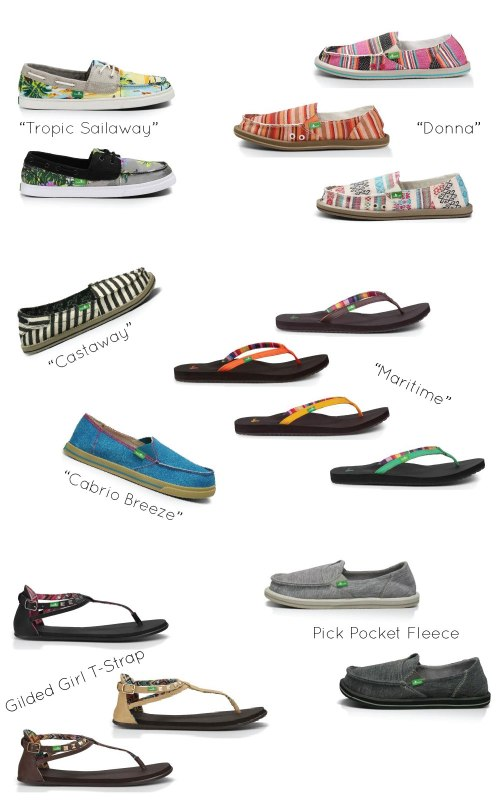Sanuk Shoes - Surfer Fashion and Style-01