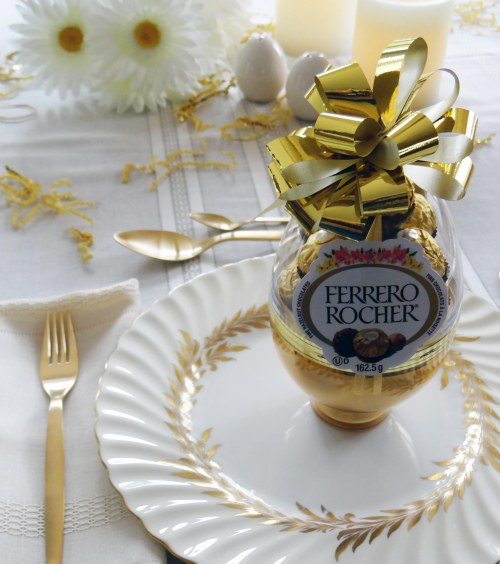 White-Gold-Easter-Dinner-Ferrero-Rocher