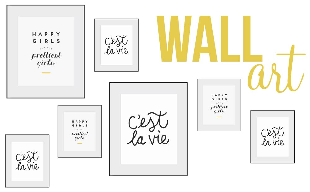 Etsy Find: Create A Gallery Wall With Prints From Etsy Shop U0027Nice Day Paperu0027