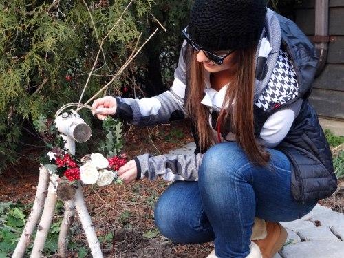 Christmas_Wreath_And_Wood_Reindeer