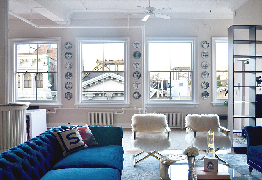 living room collections home soho nyc loft tamra sanford living room ...