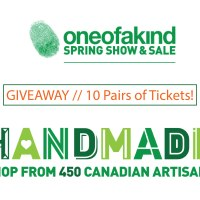 Giveaway // 10 Pairs of Tickets to the One Of A Kind Show in Toronto