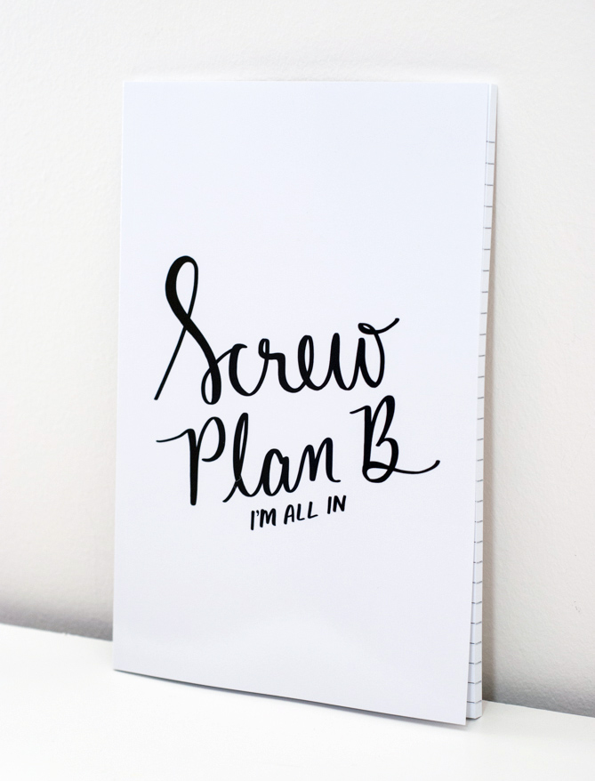 Screw-Plan-B-Notebook-Dayna-Lee-Collection-Etsy-Canada